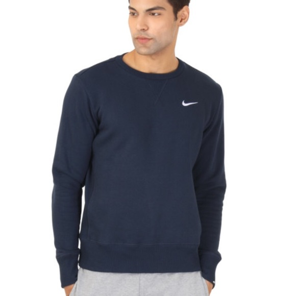 ff73f63316a4 Men s Nike Navy Blue Sweatshirt. M 5a38282e31a376179005828b